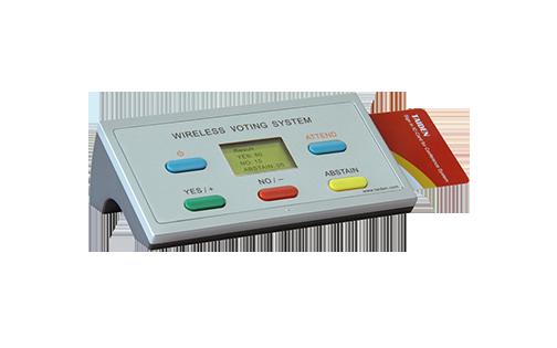 Taiden HCS-4395NAKE Беспроводной пульт для голосования