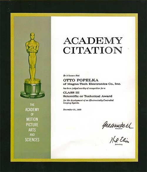 Грамота Академия 1969