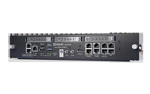 Интегрированный медиасервер с функцией звукового процессора Dolby IMS3000