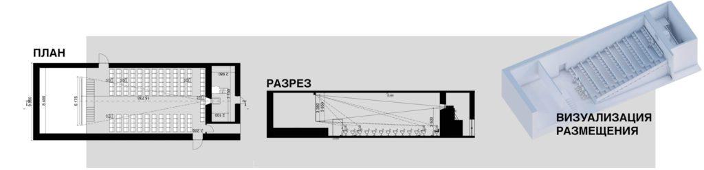 Пример предложения Магна-Тэк по озонированию и размещению оборудования