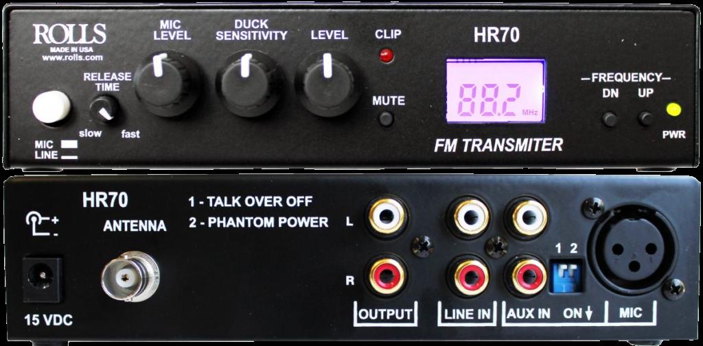 FM-передатчик для автокинотеатра и кинотеатра под открытым небом Rolls HR70 (по согласованию)