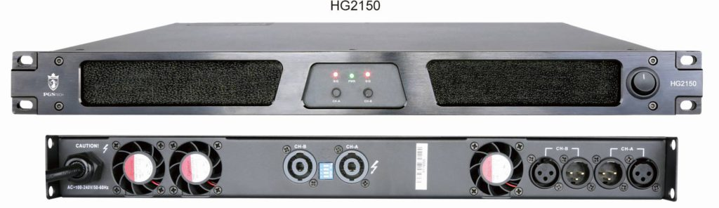 Cinema power amplifier HG Series Galaxy Series
