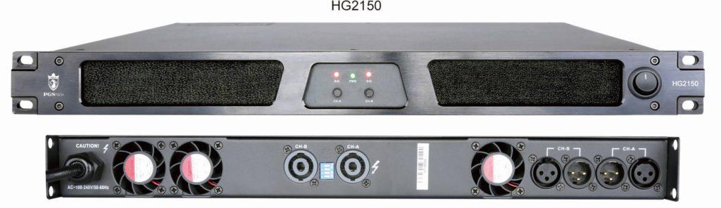 Cinema power amplifier HG Series Supreme Series