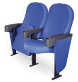 МИФРИЛ / B-9000 синий (с дерев. подлокотником, либо с пласт. подлоктоником с подстаканником)